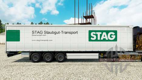 Piel de Ciervo Staubgut de Transporte en semi-re para Euro Truck Simulator 2