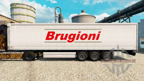 La piel Brugioni en semi para Euro Truck Simulator 2