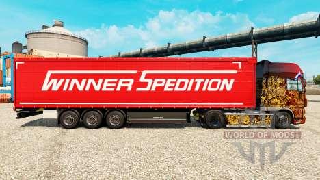 Ganador Spedition de la piel para remolques para Euro Truck Simulator 2