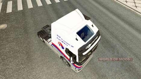 Malasian Airlines piel para camiones Volvo para Euro Truck Simulator 2