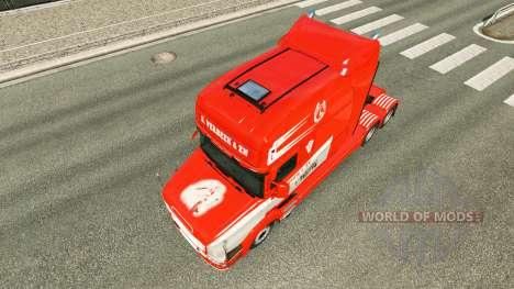Piel S. Verbeek y ZN. para camión Scania T para Euro Truck Simulator 2