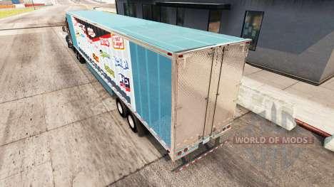 Skin Fuerza Heinz extended trailer para American Truck Simulator