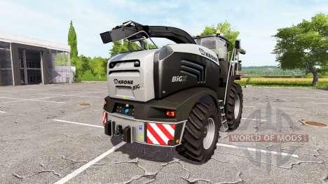 Krone BiG X 580 limited edition para Farming Simulator 2017