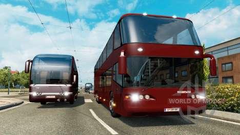 Una colección de entrenadores para el tráfico para Euro Truck Simulator 2