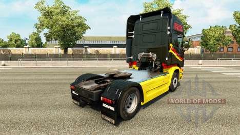Pirelli piel para Scania camión para Euro Truck Simulator 2
