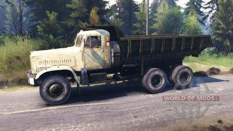 KrAZ-256 v1.1 para Spin Tires