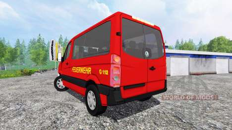 Volkswagen Crafter Feuerwehr para Farming Simulator 2015