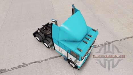 La piel del Bebé Azul camión Freightliner FLB para American Truck Simulator