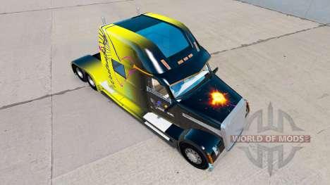 La piel Vanderoel en un Concepto de Cargadora ca para American Truck Simulator