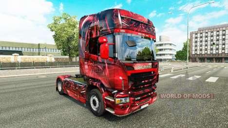 Hintergrund de la piel para Scania camión para Euro Truck Simulator 2