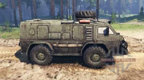 GAZ-3937 Vodnik v2.0 para Spin Tires