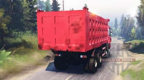 Foton Auman 9 ETX para Spin Tires
