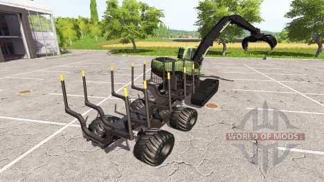 Excavadora-transportista para Farming Simulator 2017
