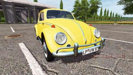 Volkswagen Beetle 1966 para Farming Simulator 2017