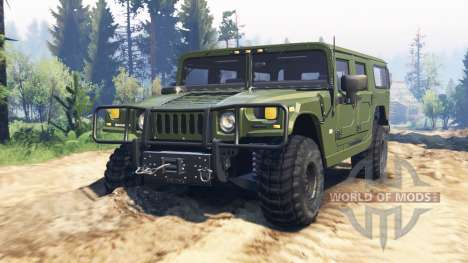 Hummer H1 v2.0 para Spin Tires