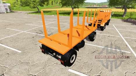 KAMAZ-43118-24 de camiones para Farming Simulator 2017