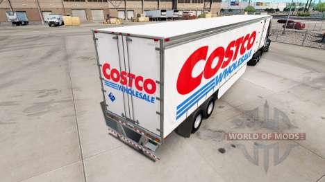 La piel en Costco Wholesale cortina semi remolqu para American Truck Simulator