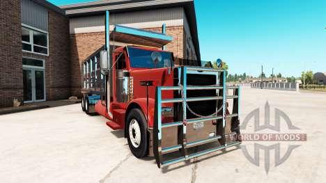 Peterbilt 379 tipper para American Truck Simulator