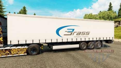 La piel de Bronce de la Logística de Transporte  para Euro Truck Simulator 2