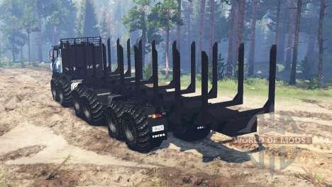 Tatra Terrno 12x12 para Spin Tires