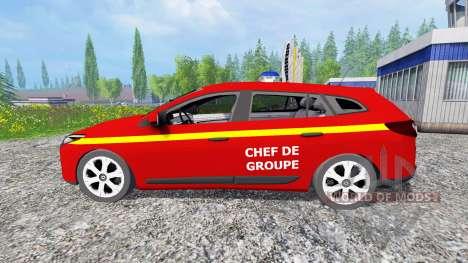 Renault Megane Estate [feuerwehr] para Farming Simulator 2015