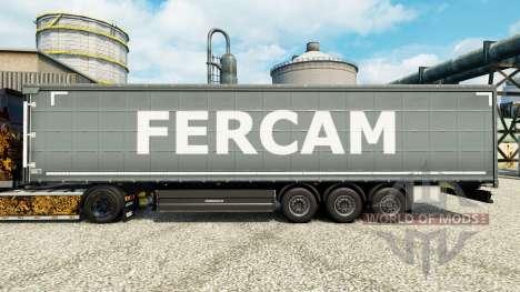 Fercam piel para remolques para Euro Truck Simulator 2