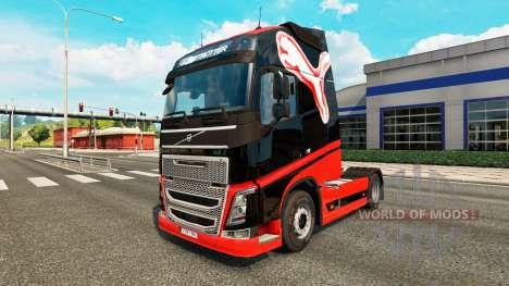 Puma de la piel para camiones Volvo para Euro Truck Simulator 2