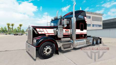 La piel en STL Linehaul Kenworth W900 tractor para American Truck Simulator