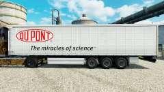 La piel Du Pont para remolques para Euro Truck Simulator 2