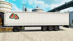 La piel Adin en semi para Euro Truck Simulator 2
