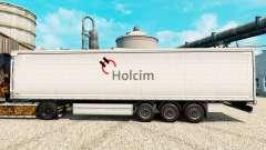 Holcim piel para remolques para Euro Truck Simulator 2