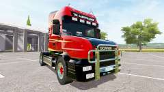 Scania T164 two-axle para Farming Simulator 2017