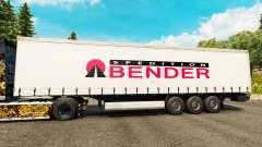 La piel Spedition Bender en semi para Euro Truck Simulator 2