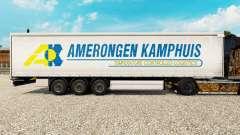 La piel Amerongen Kamphuis en una cortina semi-remolque para Euro Truck Simulator 2