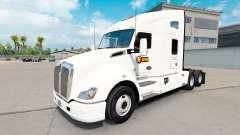 La piel Estes Express daycab tractor en Kenworth T680 para American Truck Simulator