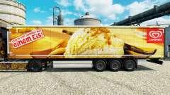 Langnese de la piel para remolques para Euro Truck Simulator 2