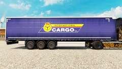 La piel PKS Internacional de Carga S. A. en el remolque para Euro Truck Simulator 2