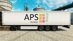 La piel de APS para remolques para Euro Truck Simulator 2