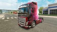 Weltall de la piel para camiones Volvo para Euro Truck Simulator 2