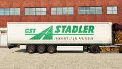 La piel GST Stadler en una cortina semi-remolque para Euro Truck Simulator 2