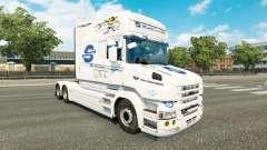 SovTransAuto de la piel para Scania camión T para Euro Truck Simulator 2