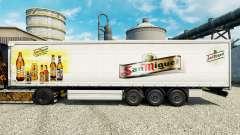 La piel de San Miguel para semi-remolques para Euro Truck Simulator 2