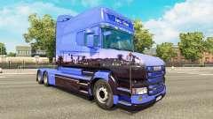 Euro Trans de la piel para Scania camión T para Euro Truck Simulator 2