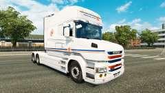 Transalliance de la piel para Scania camión T para Euro Truck Simulator 2