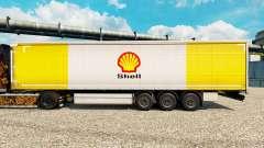 La piel de Shell para semi-remolques para Euro Truck Simulator 2