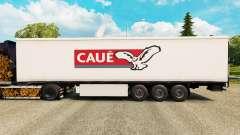 La piel Caue para remolques para Euro Truck Simulator 2