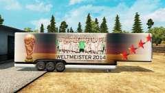 El semirremolque-el refrigerador de la Copa del Mundo 2014 para Euro Truck Simulator 2