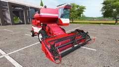 Rostselmash SK-5МЭ-1 Niva-Efecto rojo para Farming Simulator 2017