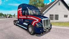 Скин de Carga de los Transportistas на Freightliner Cascadia para American Truck Simulator