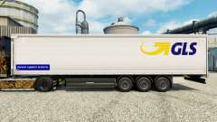La piel GLS para remolques para Euro Truck Simulator 2